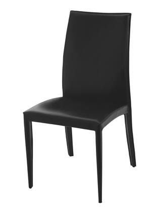 Euro Style 02401 Dafney Series Leather Dining Room Chair