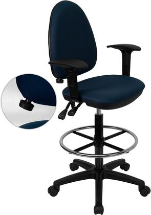 """Flash Furniture WLA654MGNVYADGG 22"""" Contemporary Office Chair"""