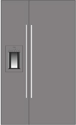 Thermador 277056 Freedom Side-By-Side Refrigerators