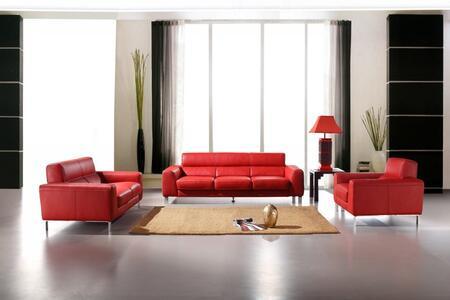 VIG Furniture VGCA21612 Modern Leather Living Room Set