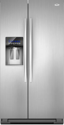 Whirlpool GSF26C4EXF Freestanding Side by Side Refrigerator  Appliances Connection