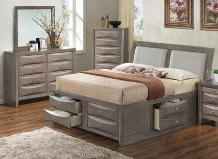 Glory Furniture G1505IFSB4DM G1505 Full Bedroom Sets
