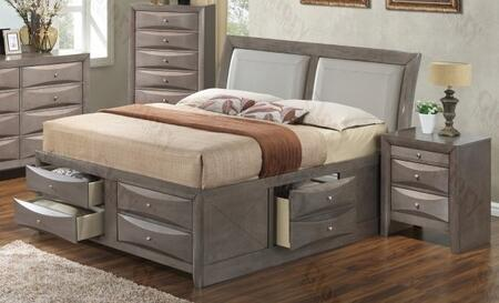 Glory Furniture G1505IQSB4CHN G1505 Queen Bedroom Sets