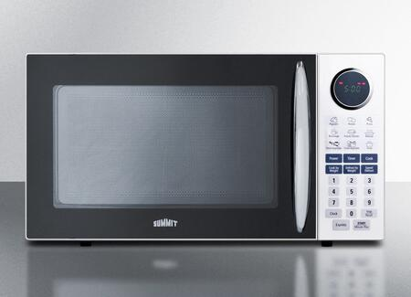 Summit SM1102WH Countertop Microwave, in White