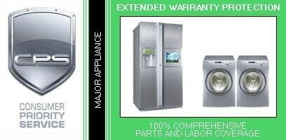 Consumer Protection Service LGAP4/5-x 4 Year In-Home Warranty for 5-Piece Major Appliance Package Under $x