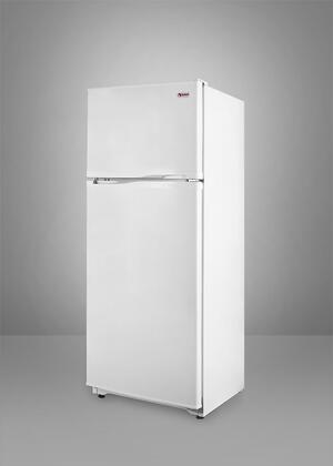 Summit FF882W Freestanding Counter Depth Top Freezer Refrigerator with 8.8 cu. ft. Total Capacity 2 Wire Shelves   Appliances Connection