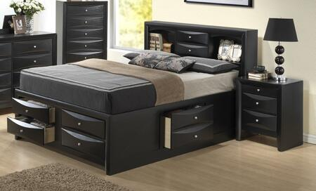 Glory Furniture G1500GKSB3CHN G1500G King Bedroom Sets