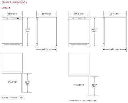 asko t754t 23 50 electric 24 electric dryer appliances connection asko dryer asko diagram1