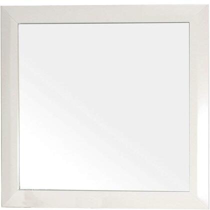 Bellaterra Home 203054MIRRORX Solid Wood Frame Mirror