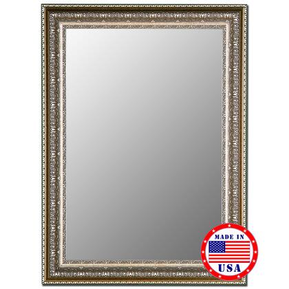 Hitchcock Butterfield 33080x Cameo XxX Mirror in Venetian Washed Silver