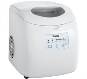 Danby DIM2500WDB  Freestanding Ice Maker with 25 lbs. Daily Ice Production, Yes Ice Storage, in White