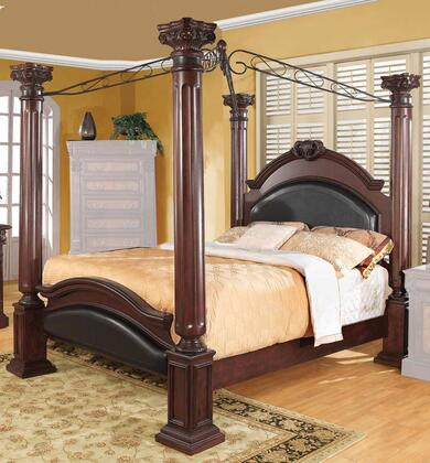 Coaster 202201Q Grand Prado Series  Queen Size Poster Bed