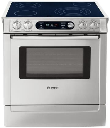 "Bosch HEI7282U 30"" 700 Series Slide-in Electric Range with Smoothtop Cooktop Warming 4.6 cu. ft. Primary Oven Capacity"