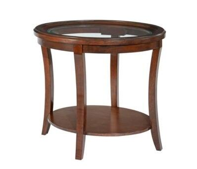 Broyhill 3713002 Dorchester Series Modern Oval End Table