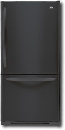 LG LBC22520SB  Bottom Freezer Refrigerator with 22.4 cu. ft. Capacity in Black