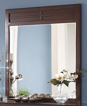 Picture of 00-060-060 Kensington 39 x 44 Mirror with Detailed Molding and Contemporary Design  in Burnished