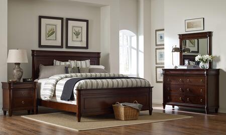 Broyhill 4906KPBNDM Aryell King Bedroom Sets