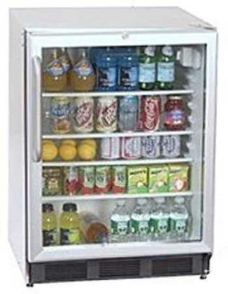 Summit SCR600BLBICSSRCL  Black Compact Refrigerator with 5.5 cu. ft. Capacity