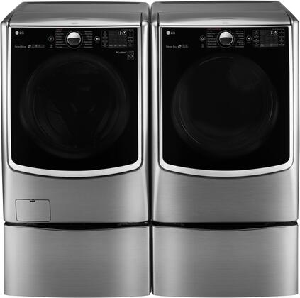 LG WM5000HVADLEX5000VPAIR2 Washer and Dryer Combos
