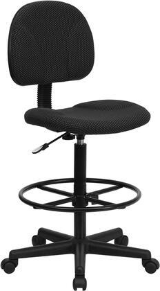 "Flash Furniture BT659BLKGG 20"" Contemporary Office Chair"