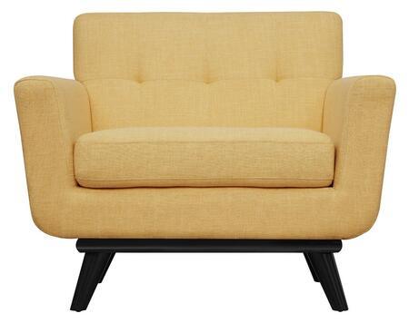 Tov Furniture James Fabric Arm Chair Tova55 Mustard Yellow