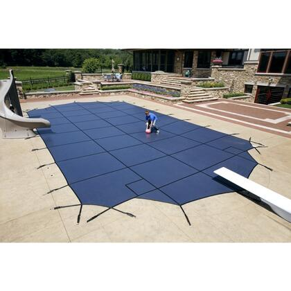 Artic Armor WS7XXBU Blue 20-Year Super Mesh Safety Cover For 00' x 00' Rectangular Pool in Blue