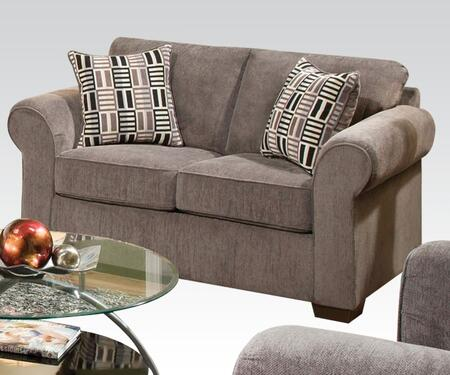 Acme Furniture 51241 Torilyn Series Fabric Stationary with Wood Frame Loveseat