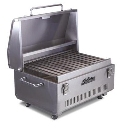 Solaire SOLIR17B Portable Grill, in Stainless Steel
