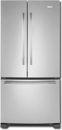 Whirlpool GX2FHDXVD  French Door Refrigerator with 22 cu. ft. Capacity in Silver