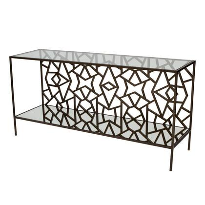 Allan Copley Designs 2140103 61.5x18x30 Cracked Ice Console Table