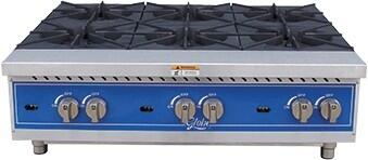36 in Gas Hot Plate