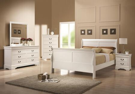 Coaster 204691T6P Louis Philippe 204 Twin Bedroom Sets