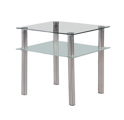 Global Furniture USA 8086E Contemporary  End Table