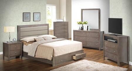 Glory Furniture G2405CKSBSET G2400 King Bedroom Sets