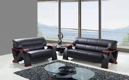 Global Furniture USA U2033BLSL Living Room Sets