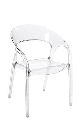 Euro Style 03371CLR Emma Series  Dining Room Chair