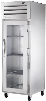 True STG1H-1 Spec Series Reach-In Heated Holding Cabinet with 31 Cu. Ft. Capacity, Low-Velocity Fans, and Swing-Door