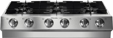 "Electrolux Icon E36GC75GSS 36"" Designer Series Gas Sealed Burner Style Cooktop"