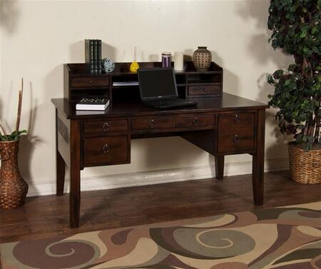 Sunny Designs 2962DCD Santa Fe Series Writing  Wood Desk
