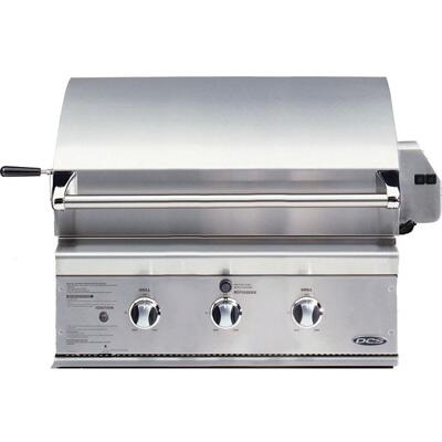 DCS BGB30BQRL Built In Liquid Propane Grill with 2 Standard|Appliances Connection
