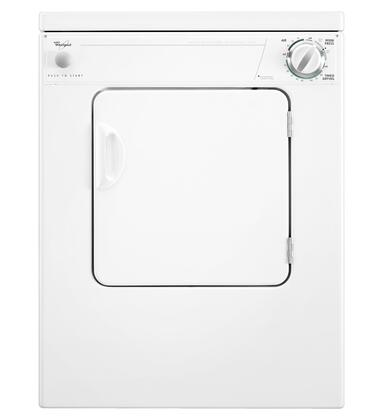"""Whirlpool LER3622PQ 23.88"""" Electric 24"""" Electric Dryer 