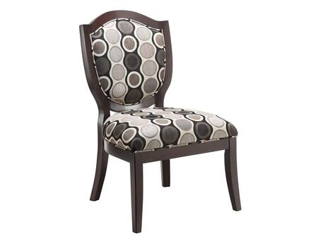 Stein World 12427 Shelby Series Armless Fabric Wood Frame Accent Chair