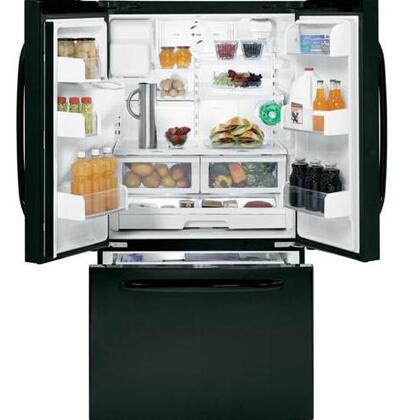GE GFSF6PKBBB  French Door Refrigerator with 25.9 cu. ft. Total Capacity 4  |Appliances Connection