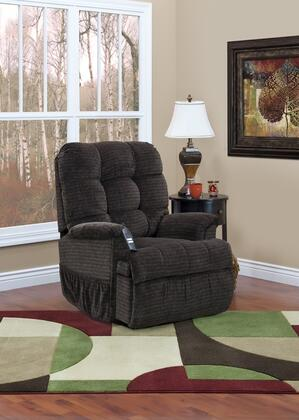 MedLift 5555PCAG Contemporary Fabric Wood Frame  Recliners