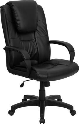 "Flash Furniture GO5301BSPECCHBKLEAGG 26.25"" Contemporary Office Chair"