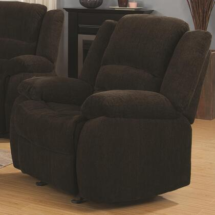 Coaster 601463 Gordon Series Contemporary Chenille Wood Frame  Recliners