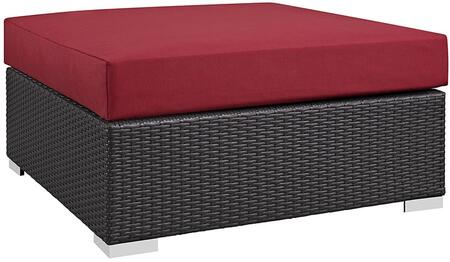 Modway EEI1845EXPRED Square Shape Patio Ottoman