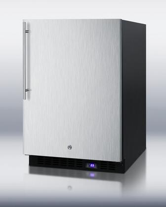 Summit SCFF51OSSSHVIM Built-In Upright Counter Depth Freezer