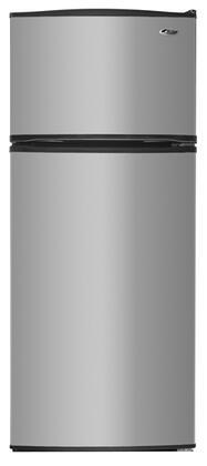 Amana A8RXNGFXD Freestanding Top Freezer Refrigerator with 17.5 cu. ft. Total Capacity 3 Glass Shelves 4.1 cu. ft. Freezer Capacity