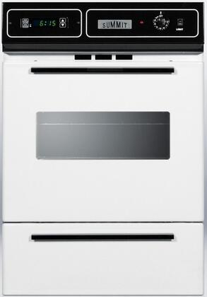 "Summit WTM7212KW 24"" Single Wall Oven"